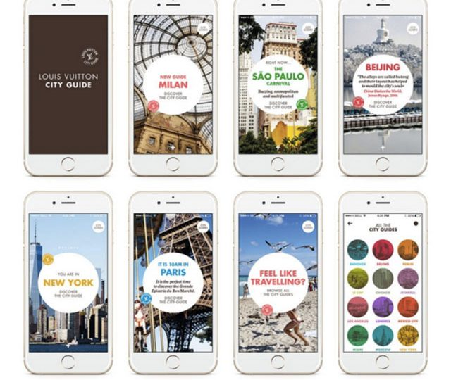 Louis Vuitton City Guides släpper App